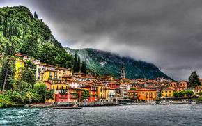 италия, море, горы обои, фото