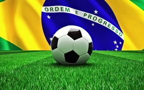 football, ball, Brazil, World Cup