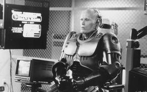 Robocop-2, Peter Weller, chair