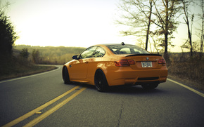 marking, road, BMW, BMW, zadok, orange
