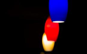 lights, COLOR, background, form
