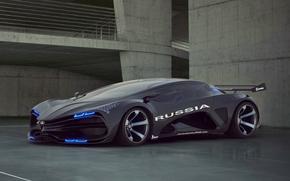 Concepto, Supercar, Supercars, Es igual a, Drives, LUCES, LADA