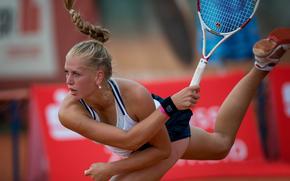 Анна Класен, немецкая теннисистка, ракетка