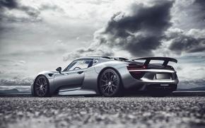 Porsche, argint, Porsche