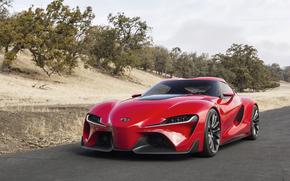 mașină, Toyota, Față