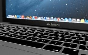 macbook, maçã, computador
