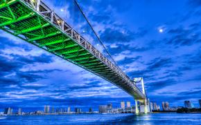 Rainbow-puente, Tokio, Japón