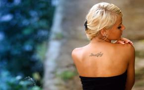 girls, skin, blonde