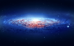 космос, небо, звезды, бездна